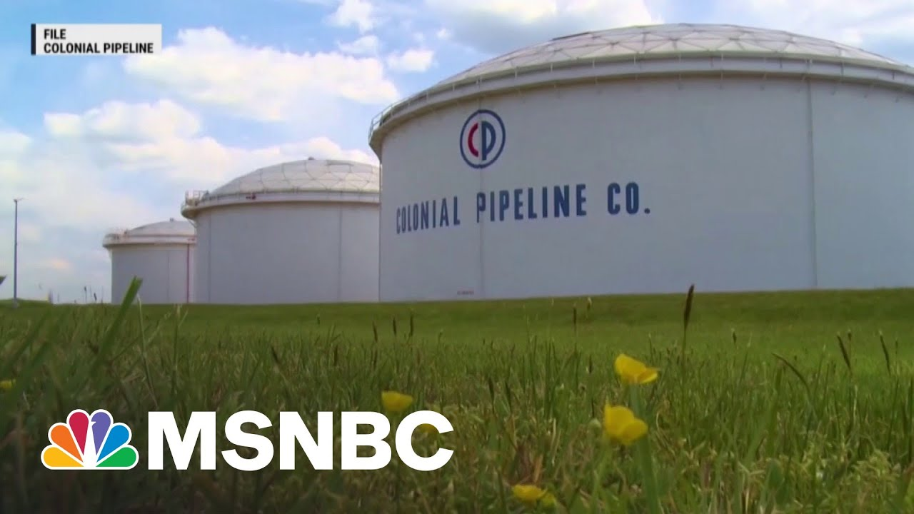 Former WH Cybersecurity Adviser: Pipeline 'Should Not Have Been This Vulnerable' | MTP Daily | MSNBC 1