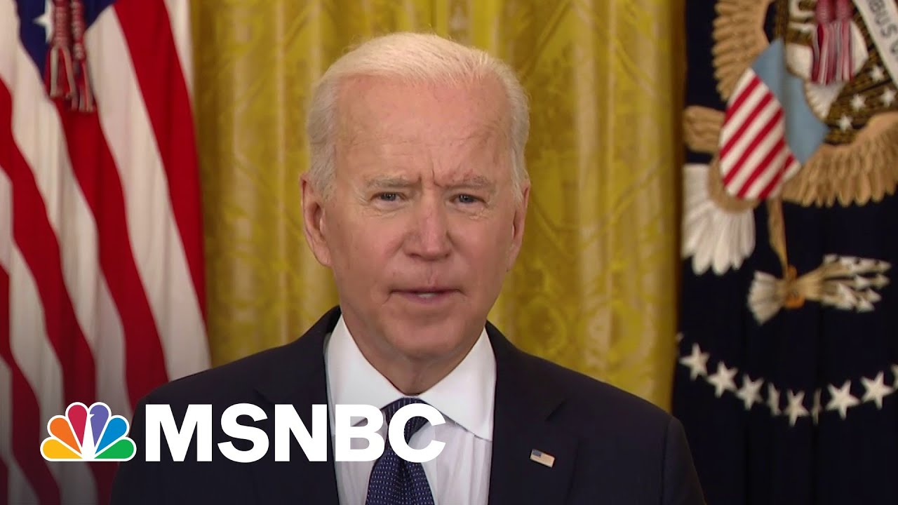 President Joe Biden Says FBI Is 'Engaged' To Assess, Address Colonial Pipeline Cyberattack | MSNBC 8