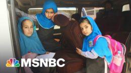 Afghan Girls Return To School After Taliban Bombing Kills 60 | Andrea Mitchell | MSNBC 5