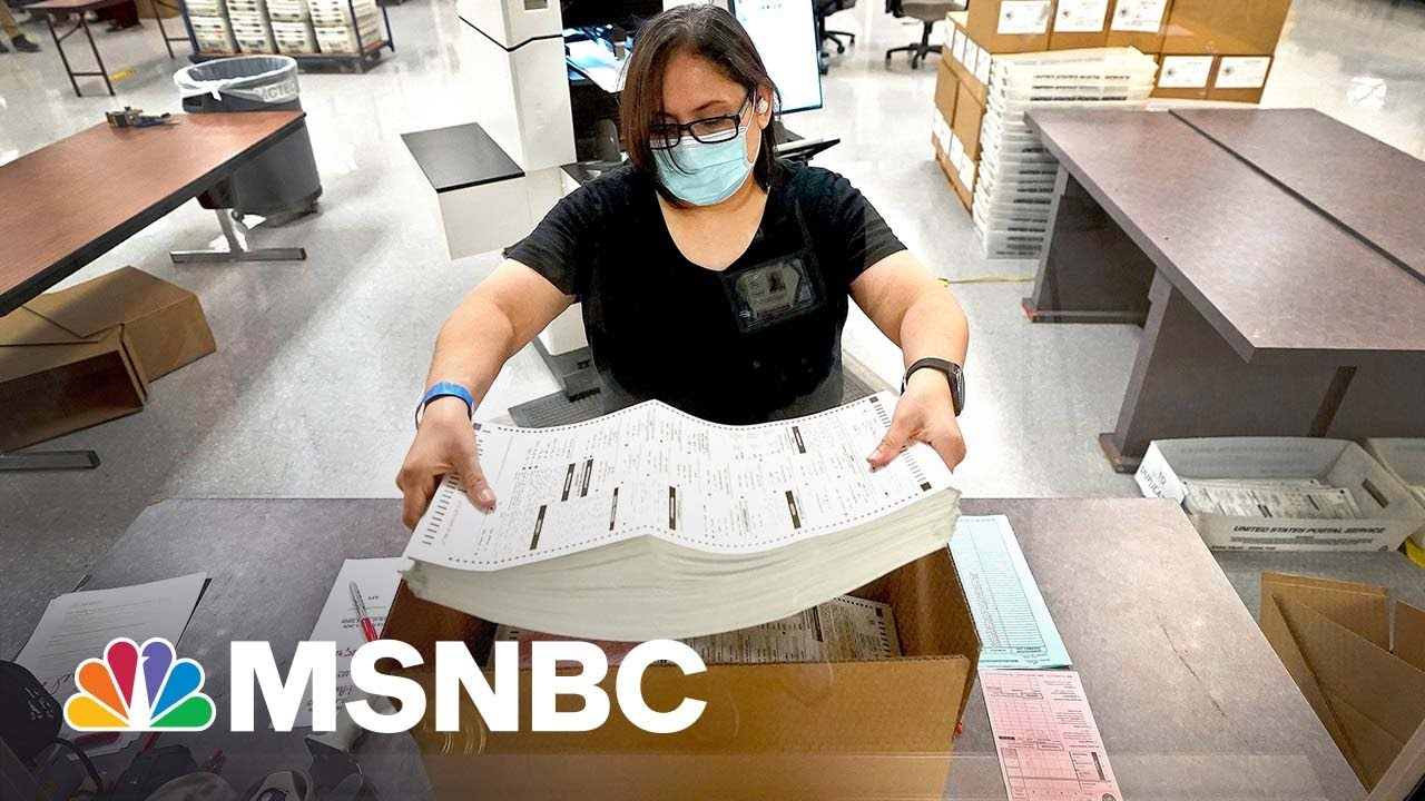 Arizona Audit Procedure Is 'Reckless': Maricopa County Sheriff | MSNBC 1