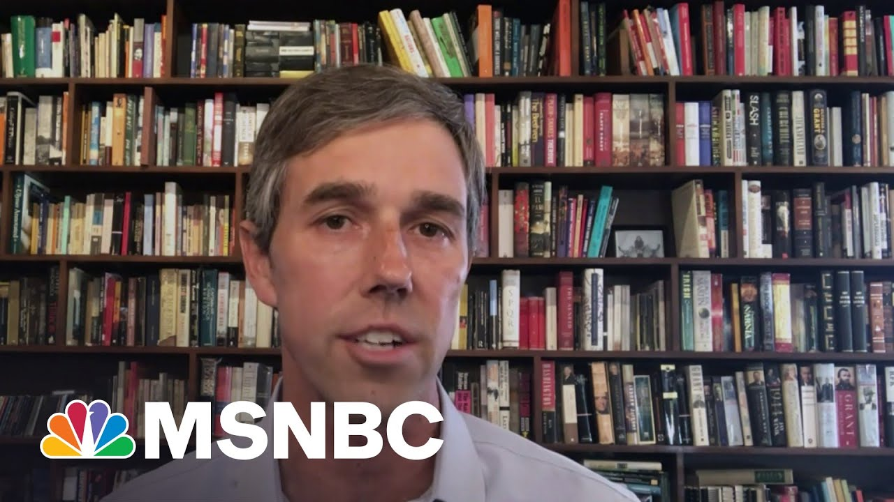 Beto O'Rourke Warns 'Democracy Is Still Under Attack' | MSNBC 6
