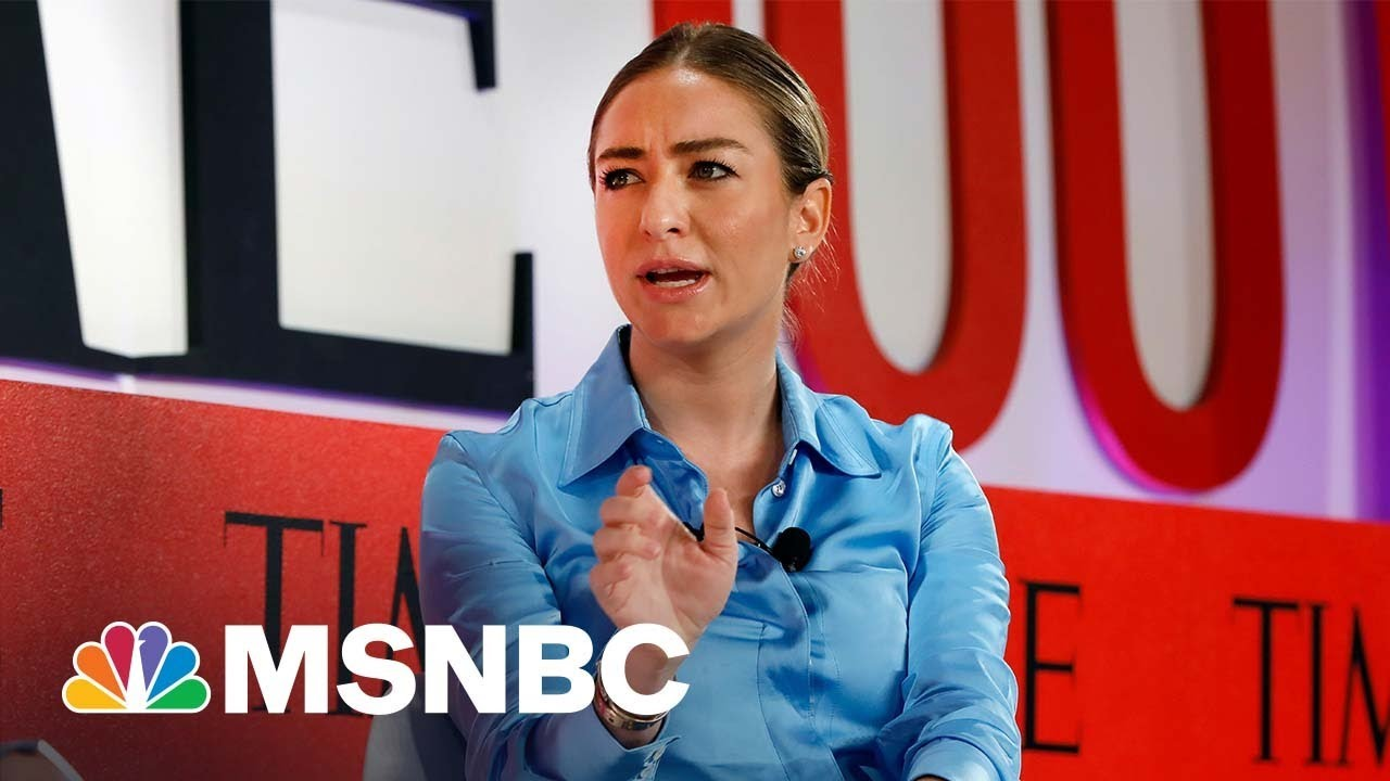 Secrets To Dating And Making A Billion By 31 From Bumble's Whitney Wolfe Herd   MSNBC Summit Series 1