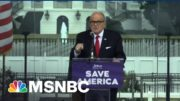 After Raid, Giuliani Literally Goes Nixon: 'I'm Not A Crook!' | The Beat With Ari Melber | MSNBC 8