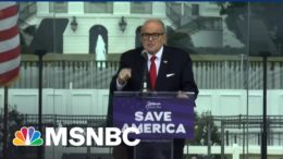 After Raid, Giuliani Literally Goes Nixon: 'I'm Not A Crook!' | The Beat With Ari Melber | MSNBC 5
