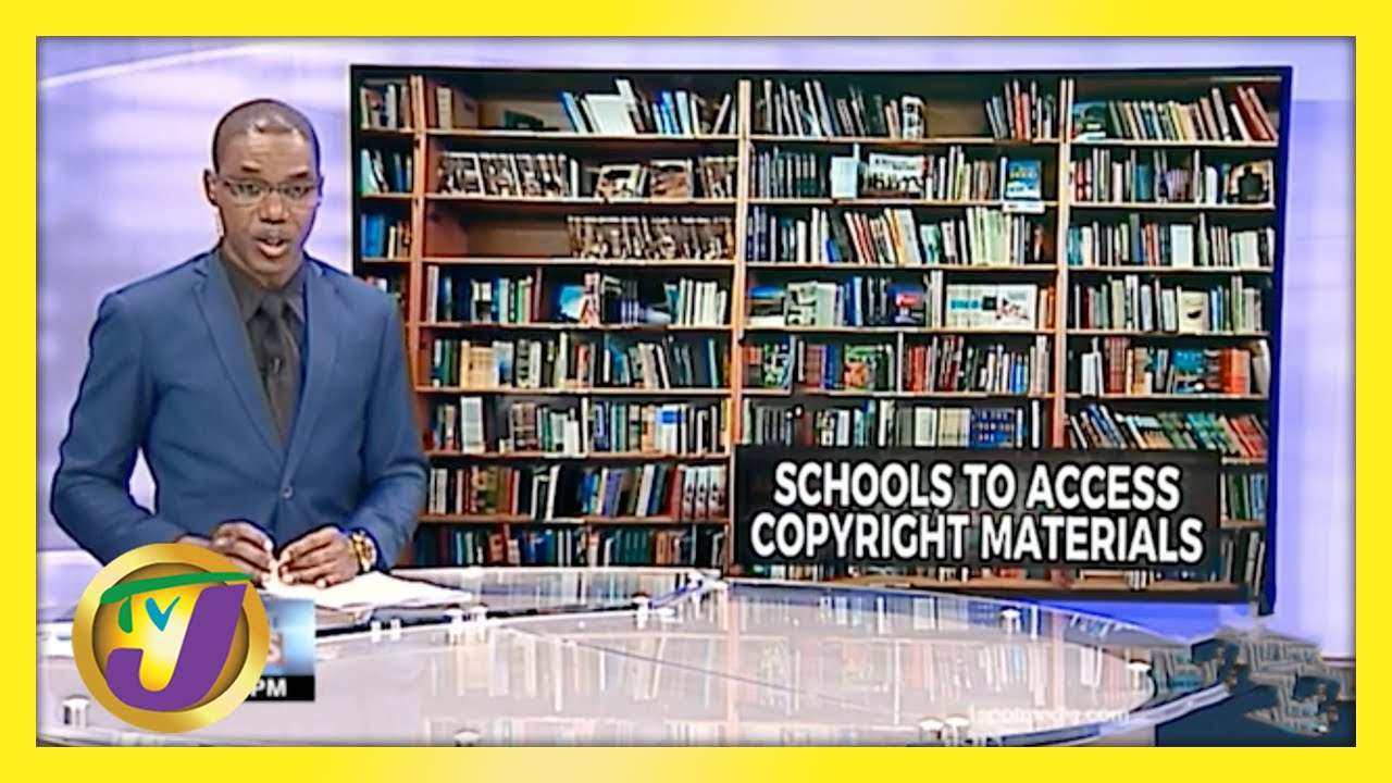 Jamaican Schools to Access Copyright Material   TVJ News - May 7 2021 1