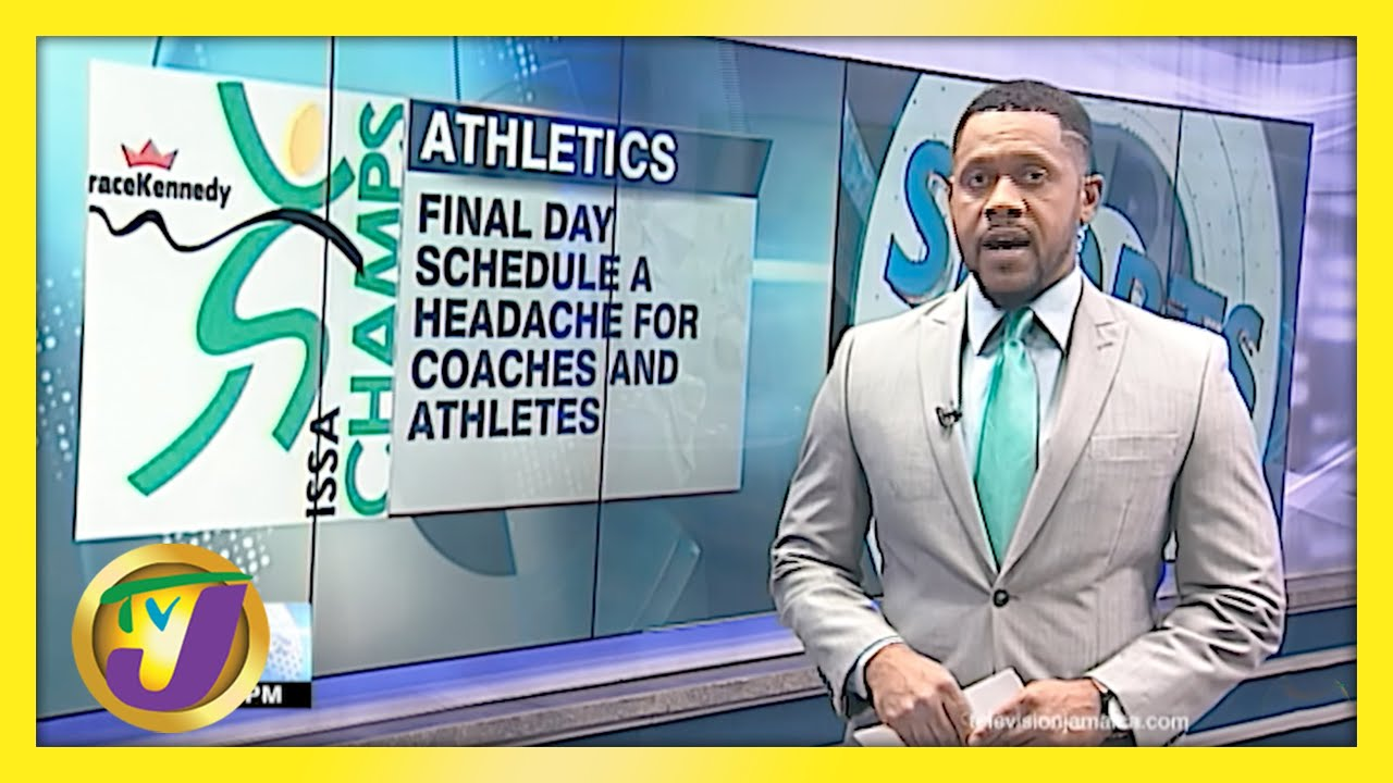 Holmwood's Coach Takes Issue with Champs Final Day Schedule - May 7 2021 1
