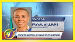 Education Minister on Secondary School Placement | TVJ News - May 8 2021 9
