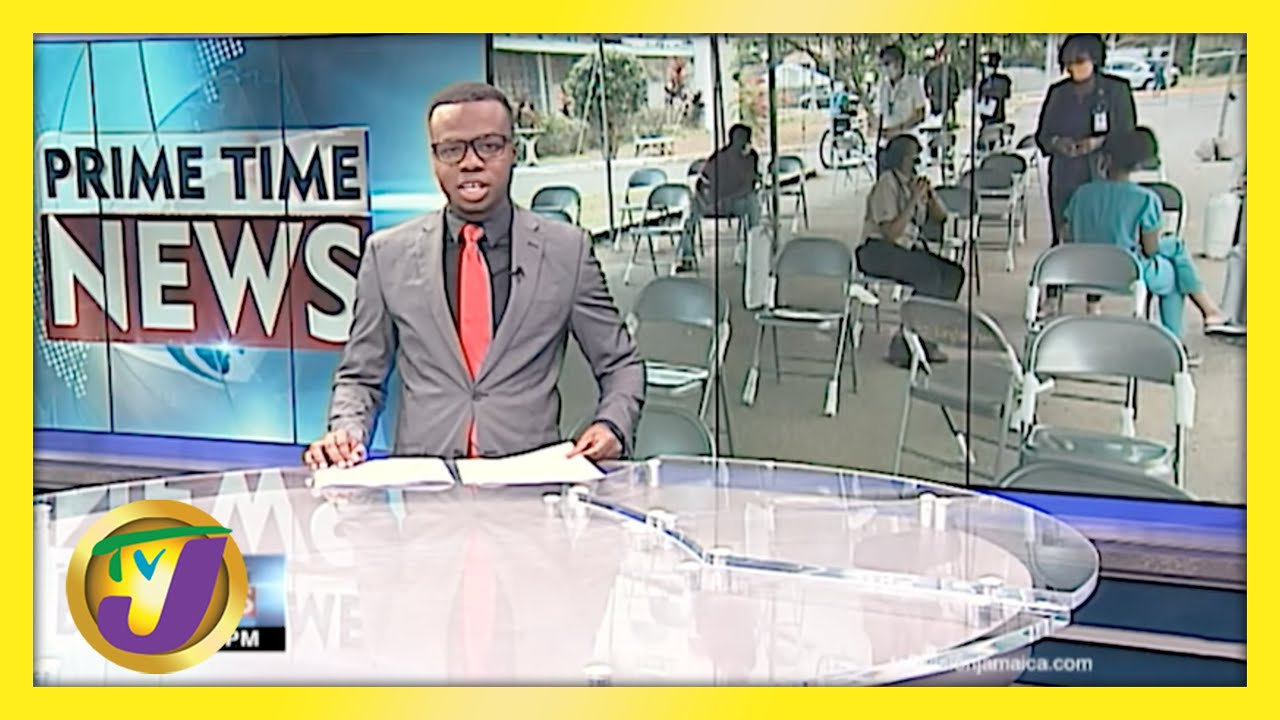 Jamaican Teachers Low Vaccination Turn Out   TVJ News - May 8 2021 1