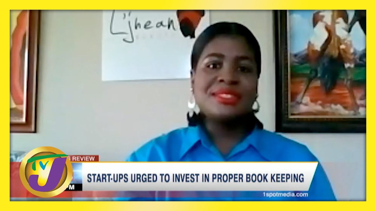 Jamaican Start-ups Urged to Invest in Proper Book Keeping | TVJ Business Day - May 9 2021 1