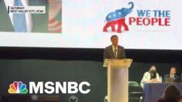 Sen. Mitt Romney Booed At Utah GOP Convention   Morning Joe   MSNBC 5