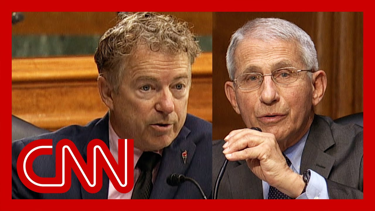 'You are entirely and completely incorrect': Dr. Fauci fires back at Rand Paul 1