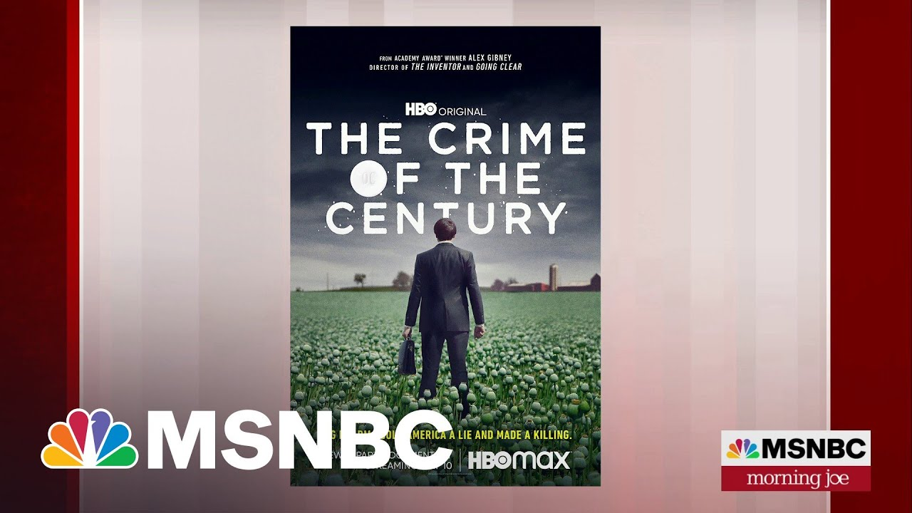 'Crime of the Century' Traces Origins Of The Opioid Epidemic   Morning Joe   MSNBC 1