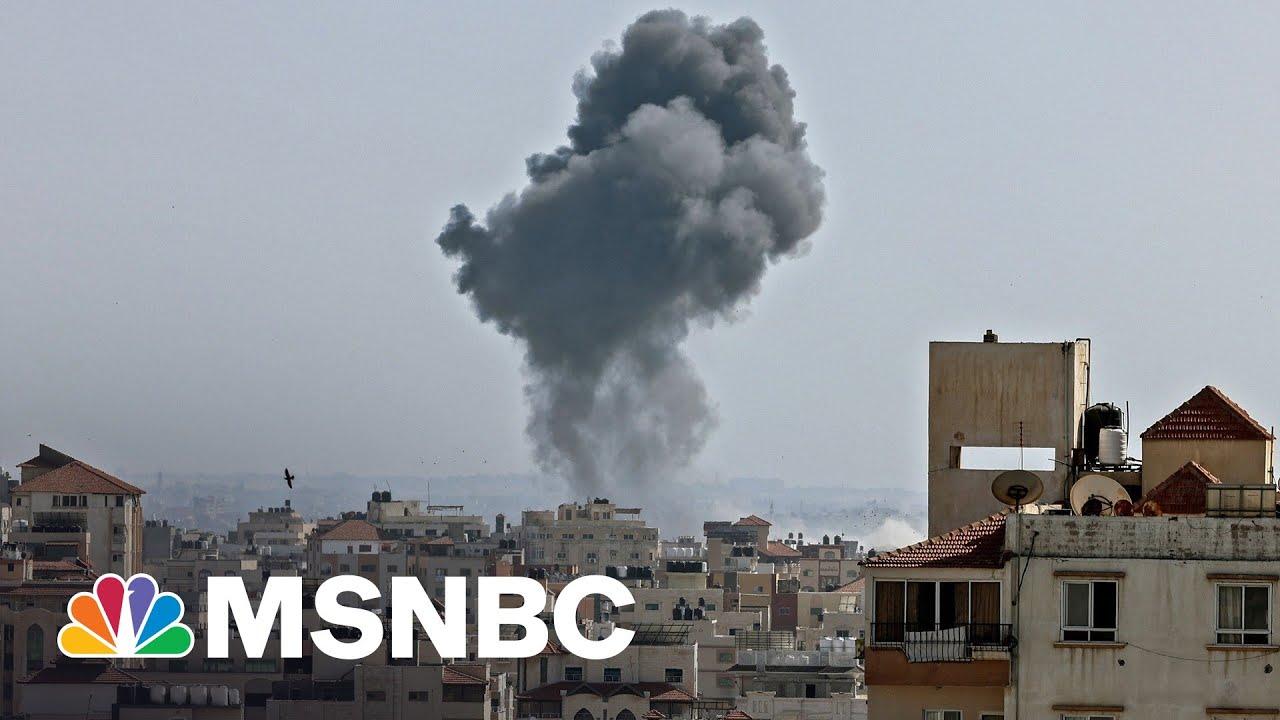 Israel, Hamas Exchange Fire As Violence Spreads Beyond Jerusalem 1