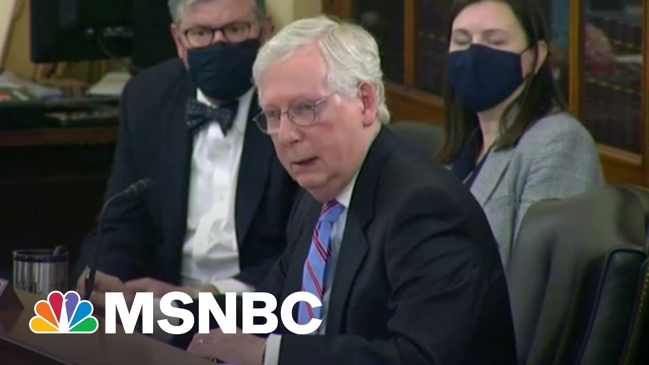 McConnell On 'Personal Mission' To Kill Voting Rights Bill, GOP Preps Over 100 Amendments   MSNBC 7