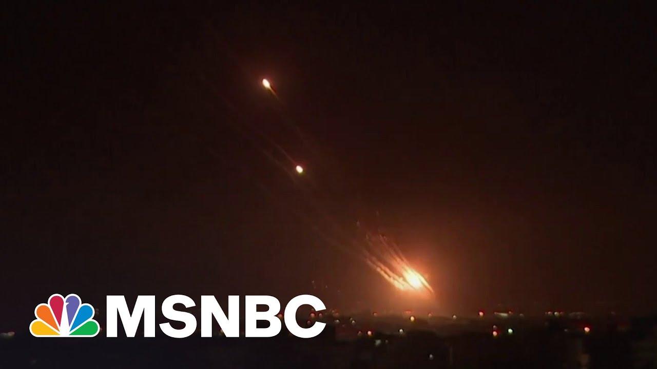 Rockets Kill 2 Israelis, Airstrikes Kill 28 In Gaza | MSNBC 4