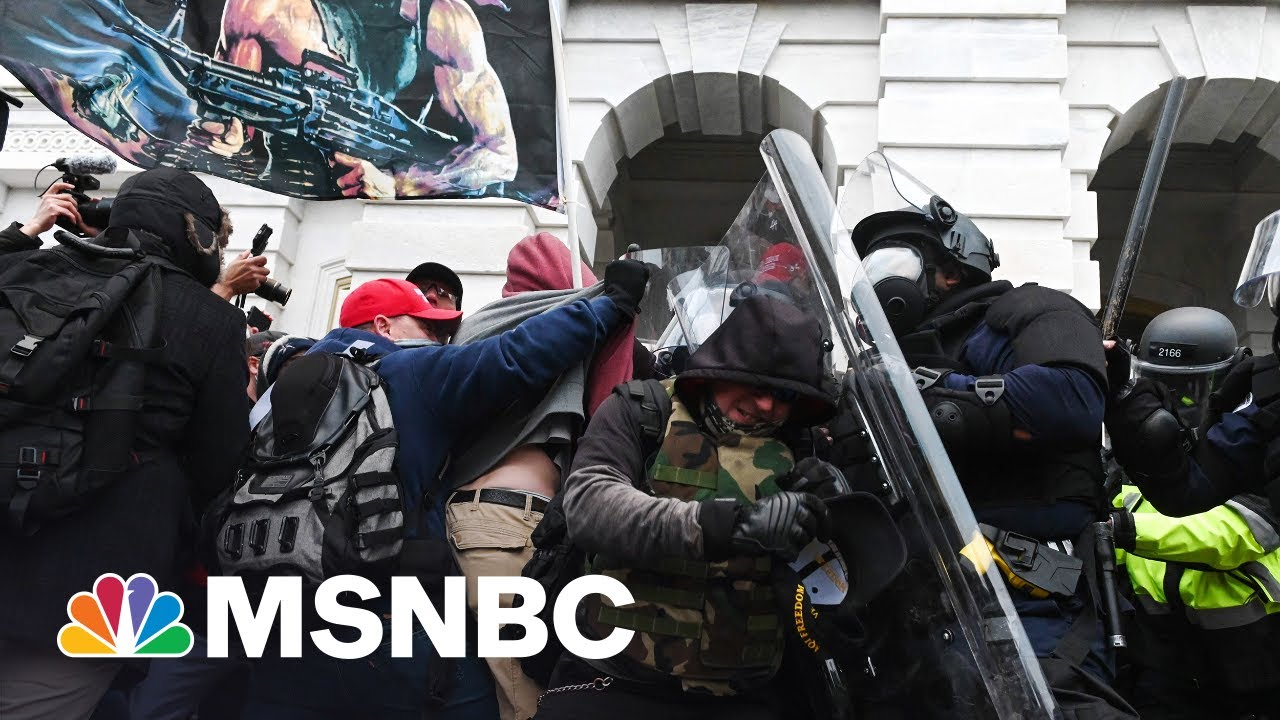 Lawmaker Says Capitol Police Diverted Attention From Proud Boys 1