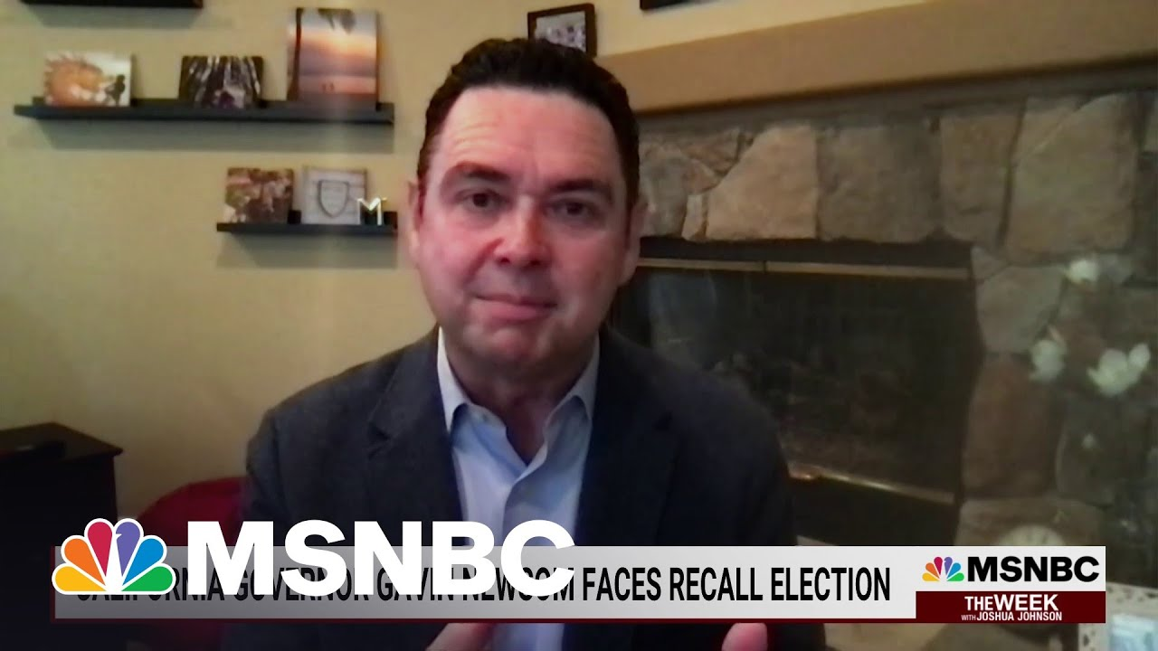 VP Harris Speaks Out In Support Of Newsom As He Faces Recall Election | The Week | MSNBC 1