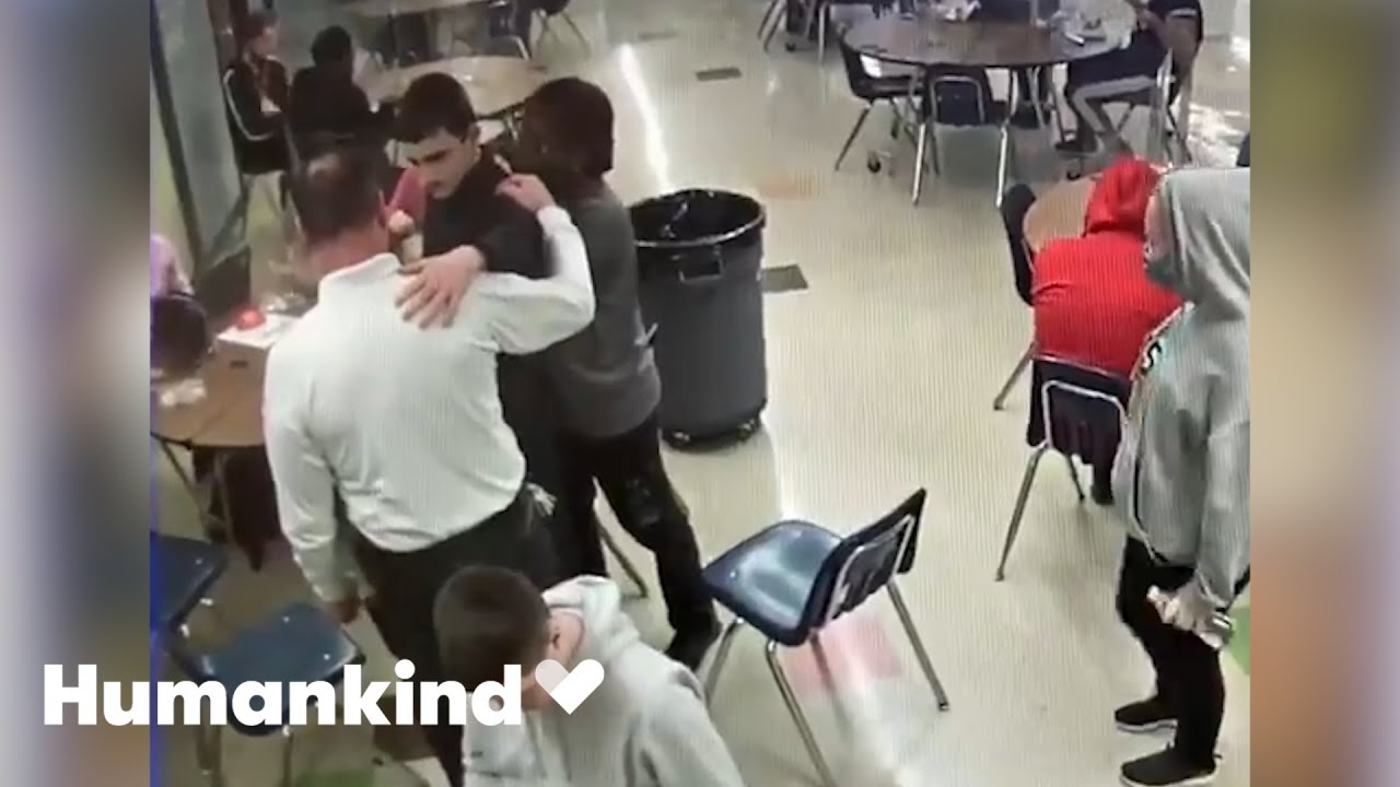 Security guard races to save student's life | Humankind 2
