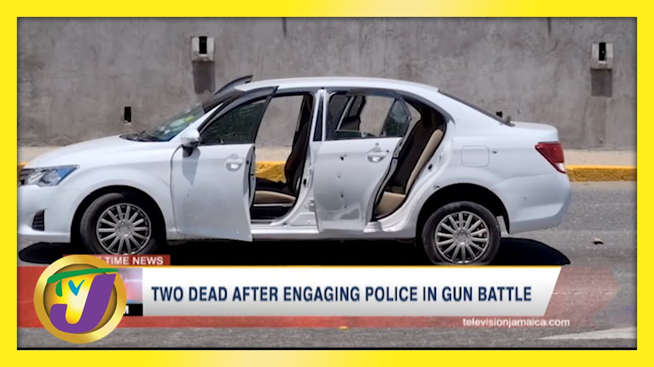 2 Dead After Gun Battle with Police in Kingston, Jamaica | TVJ News - May 10 2021 1