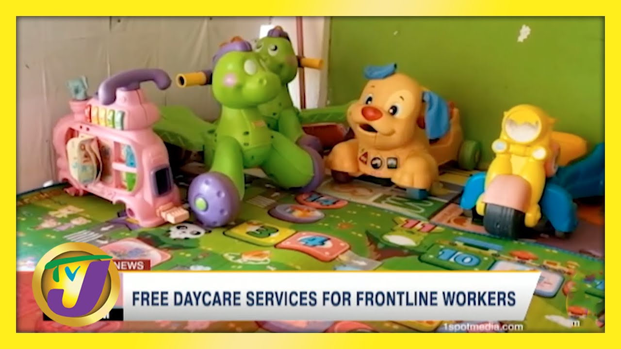 Free Daycare Services for Frontline Workers | TVJ News - May 10 2021 1