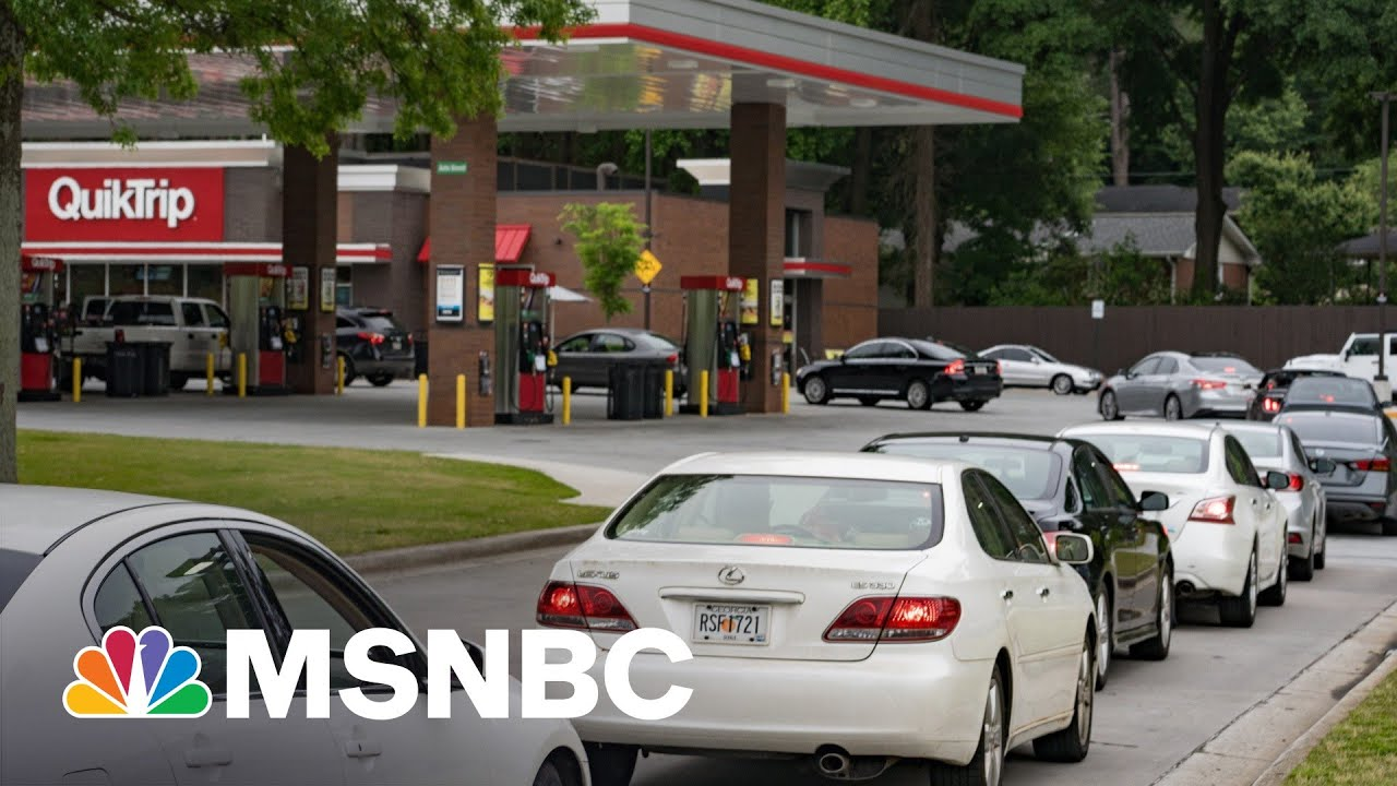 Gas Supply Panic Sets In As Effects Of Pipeline Hack Drag On | MSNBC 4