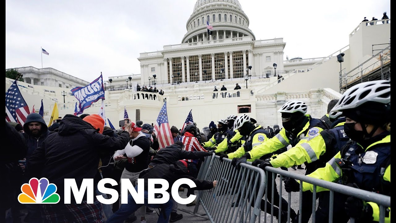 """Don't Call It Trump's """"Big Lie."""" It's An Attack On America   MSNBC 3"""
