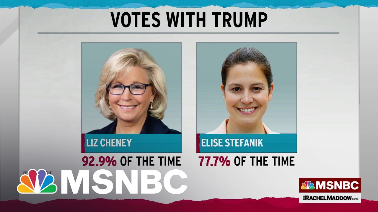 Liz Cheney More Aligned With Trump Than Her Potential Replacement 2