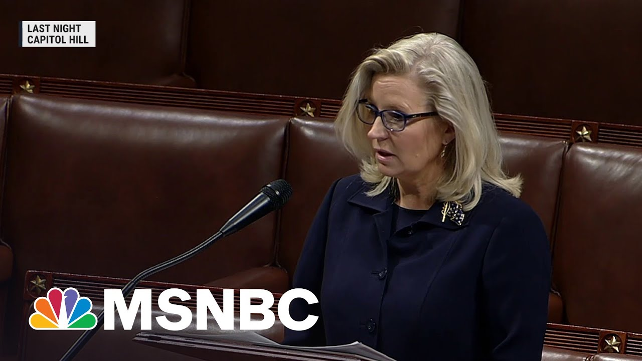 Rep. Liz Cheney Facing Vote To Remove Her From GOP Leadership | MSNBC 6