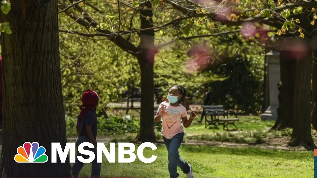 Doctor Says Children No Longer Need Masks Outdoors   MSNBC 1