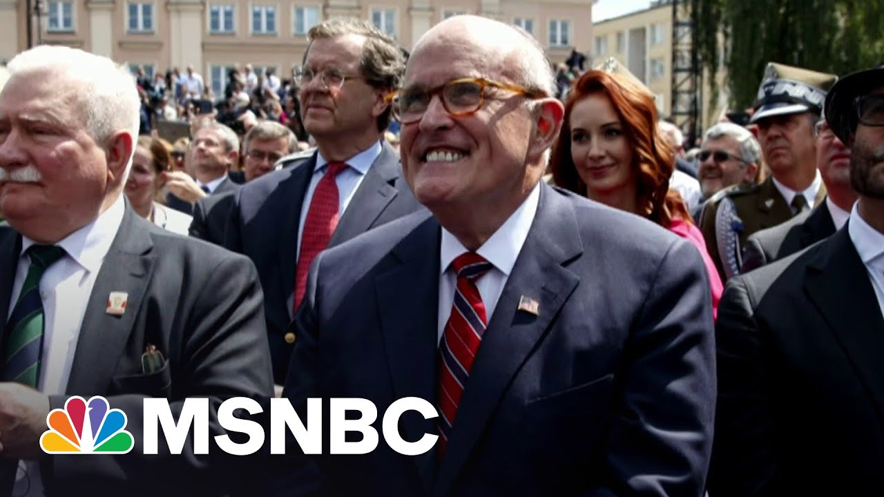 Rudy Giuliani Does Have A Lot To Worry About, Says State Attorney | Morning Joe | MSNBC 4