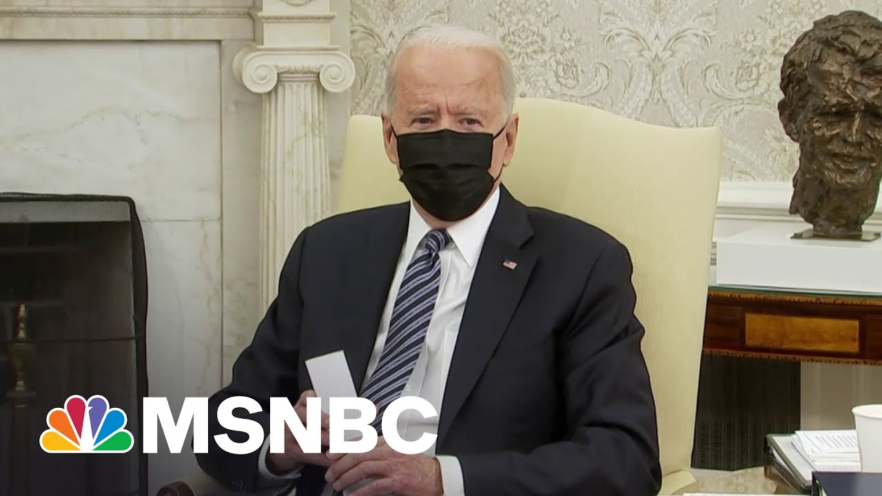 Biden Hopes For 'Compromise' In Meeting With Congressional Leaders 1