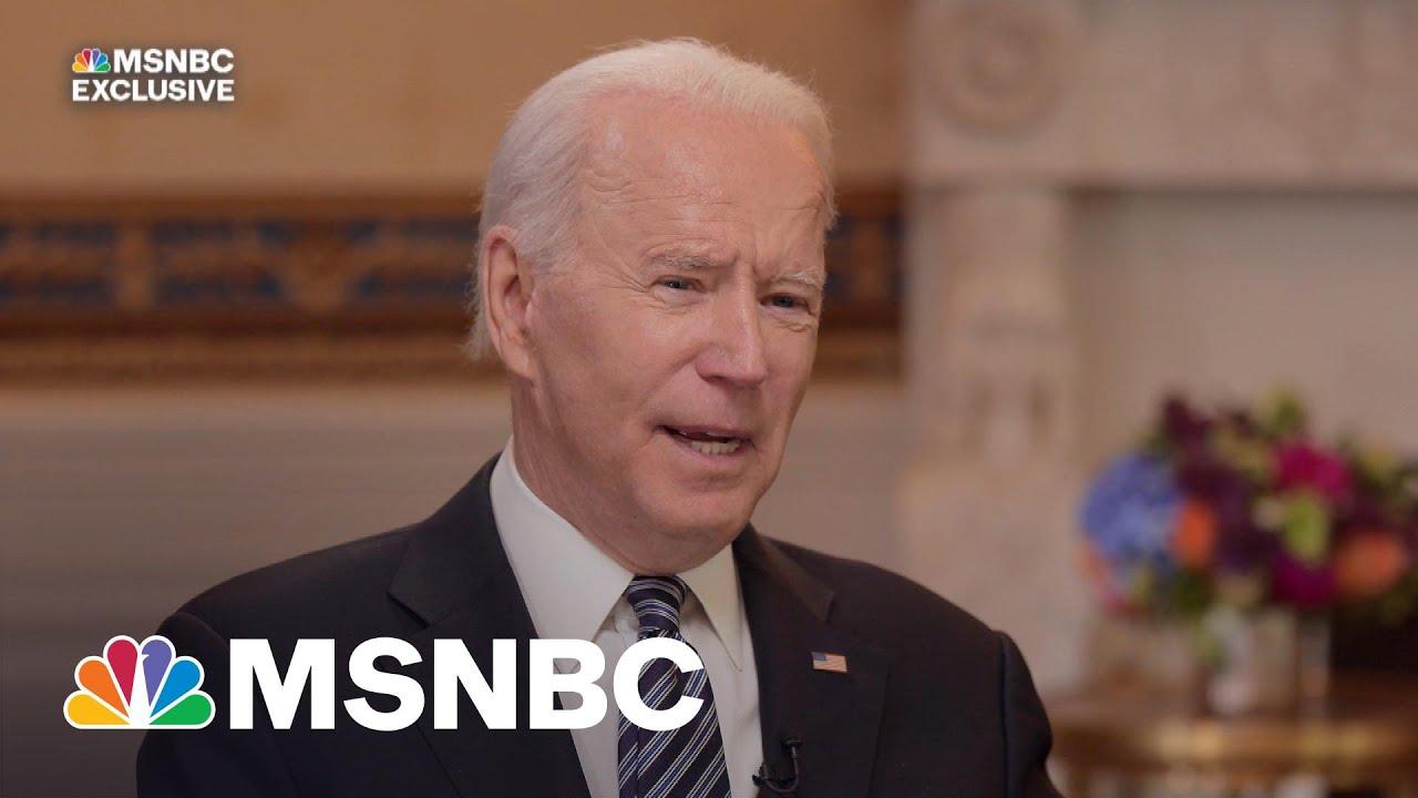 Exclusive: Biden Stresses Bipartisan Goal Of Infrastructure Plan 3