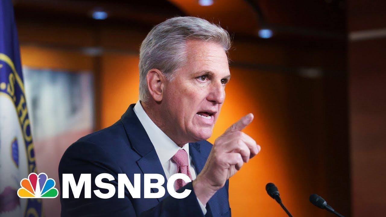 McCarthy Displaying 'Selfish Form Of Leadership' Says Congressman 1