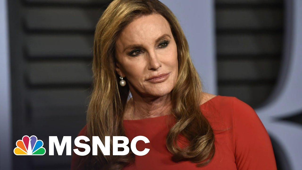 Caitlyn Jenner: 'It Just Isn't Fair' For Trans Girls To Play Women's Sports   Hallie Jackson   MSNBC 1