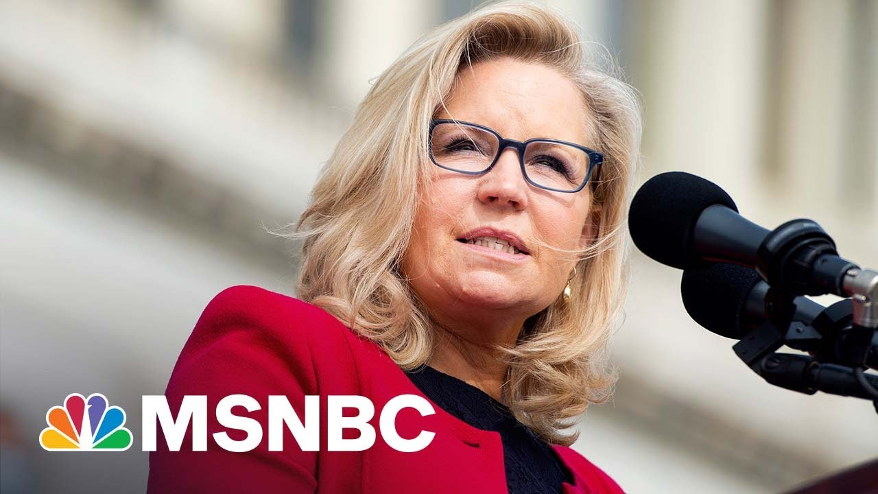 Rep. Sean Patrick Maloney Reacts To Liz Cheney's Ouster   MSNBC 1