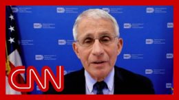 Hear what Dr. Fauci thinks about CDC's mask announcement 1