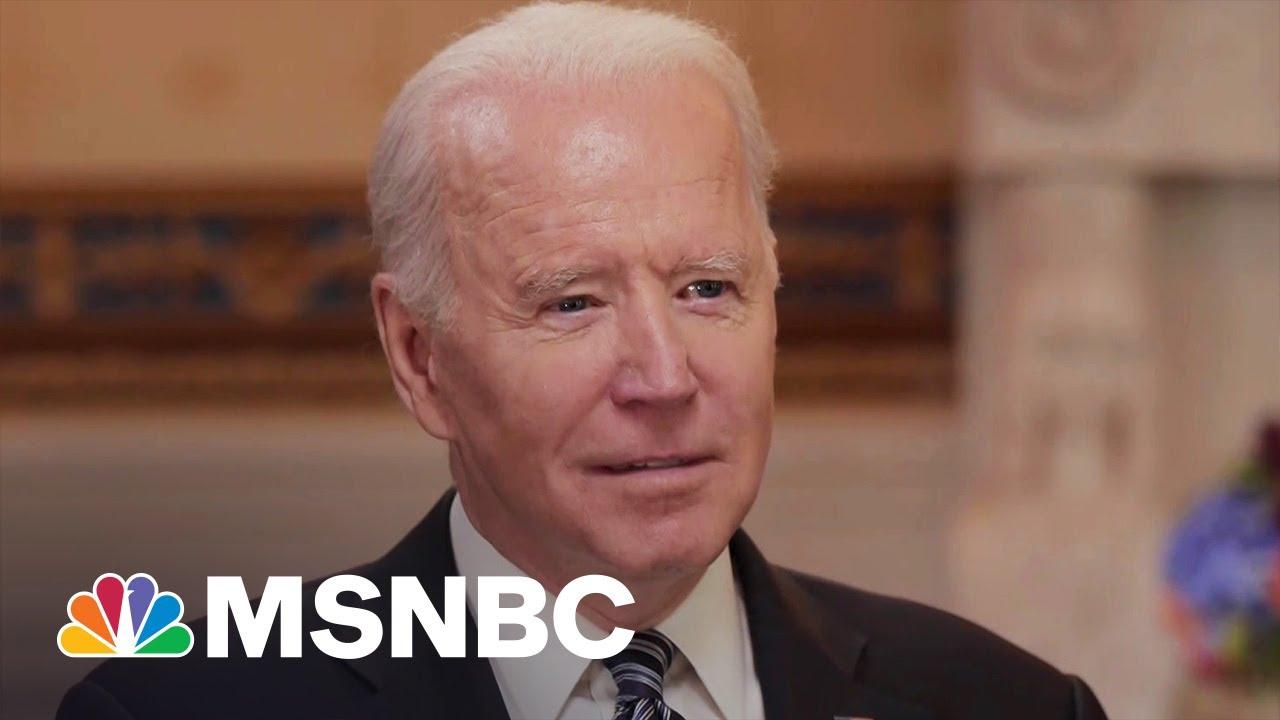 Biden Says Vaccination Still Number One Priority In Next 100 Days 3