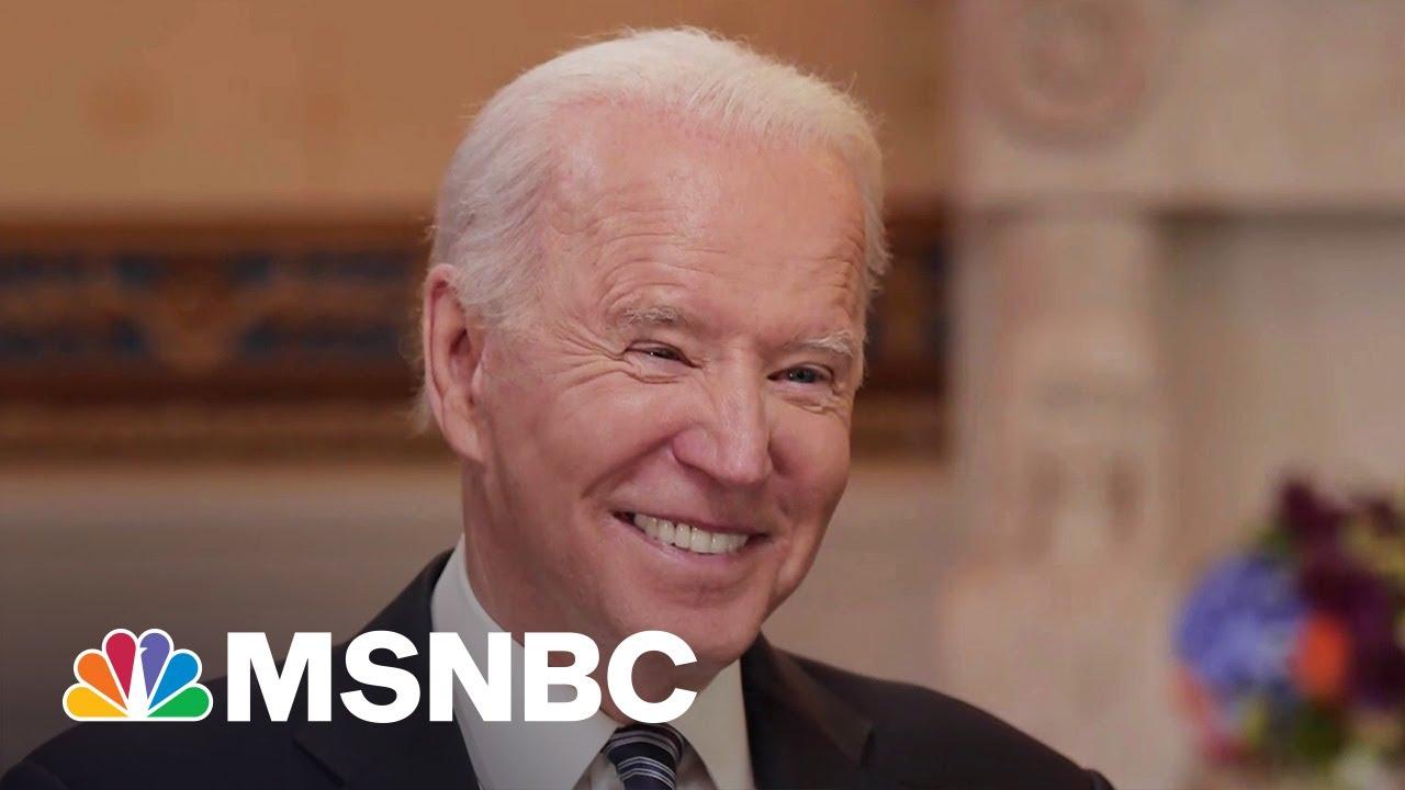 Biden Calls Liz Cheney & GOP In-Fighting 'Above His Pay Grade' 3