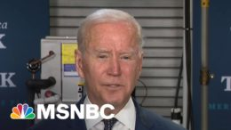 Biden: American Families Plan Ensures Four Extra Years Of Public Education | MTP Daily | MSNBC 9