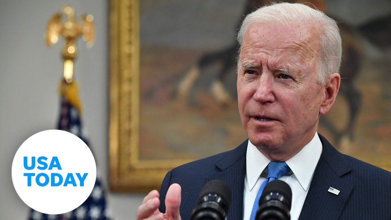 President Biden says Colonial Pipeline has reached full operational capacity | USA TODAY 1