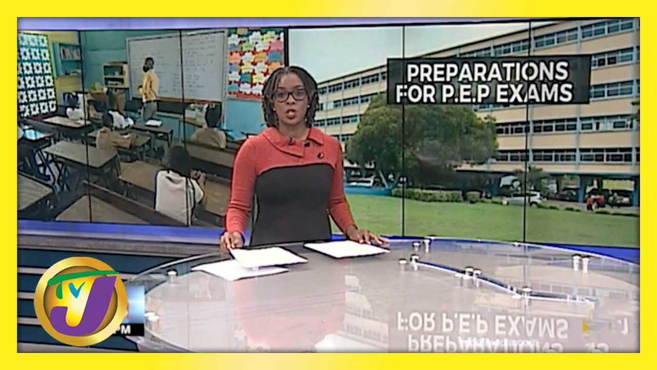 Jamaican Education Officials Confident of P.E.P Preparations | TVJ News - May 11 2021 1