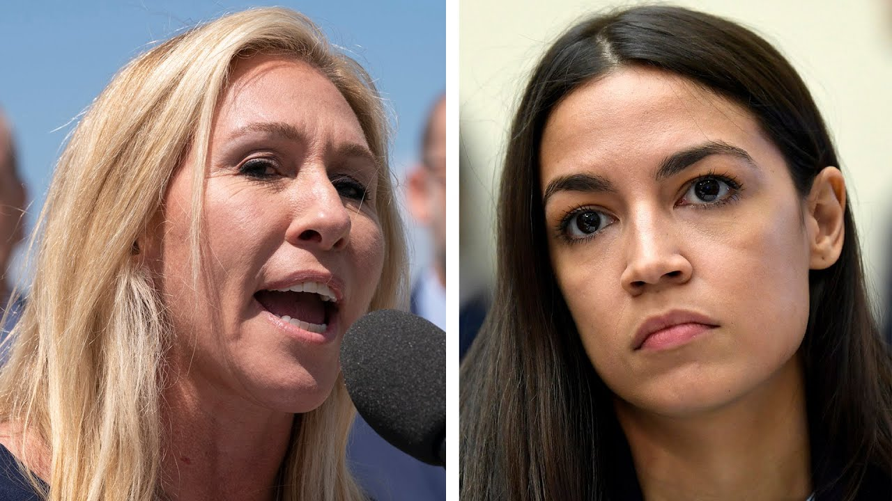 QAnon supporting congresswoman is 'deeply unwell,' says AOC 2