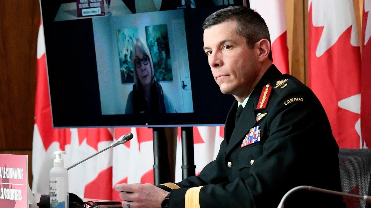 Maj.-Gen. Dany Fortin no longer leading vaccine campaign pending military investigation | COVID-19 1