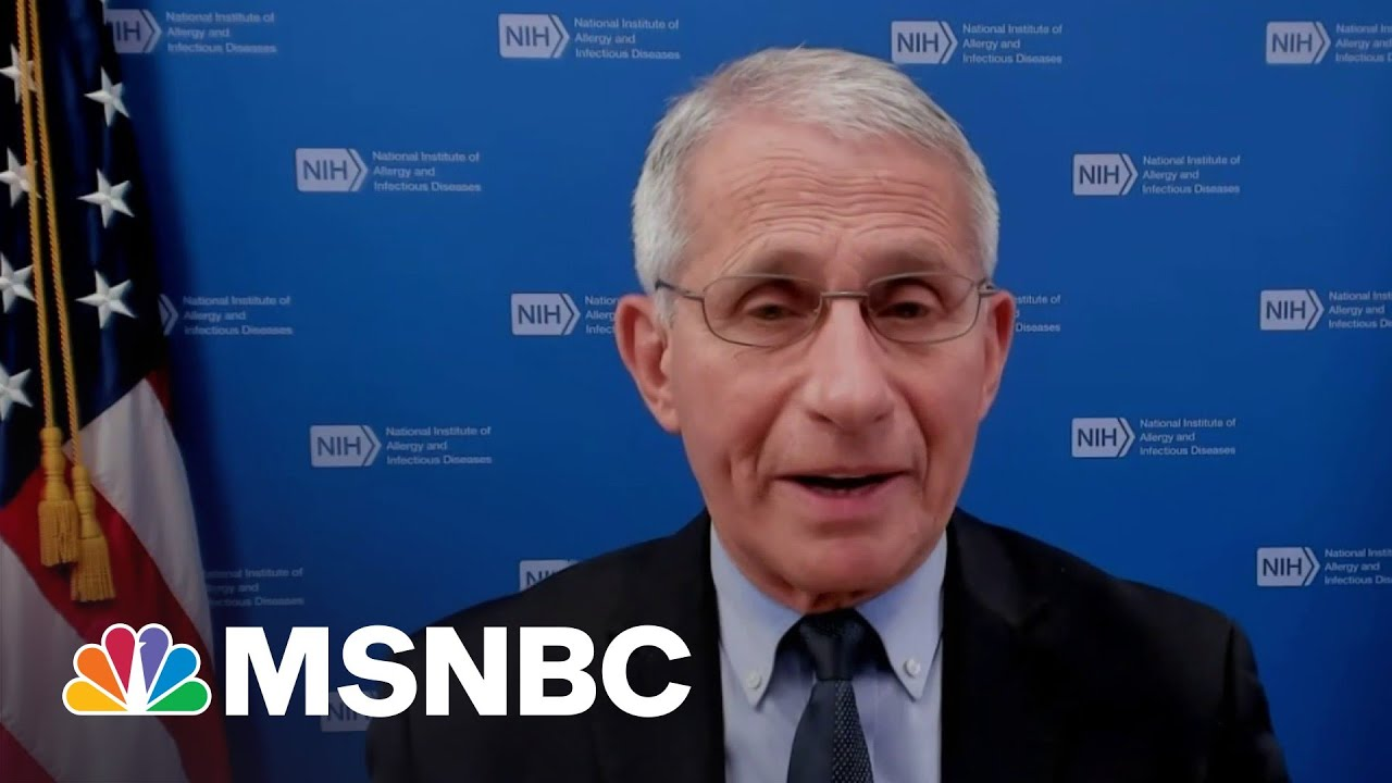Fauci: We Hope Mask Announcement Will Encourage More Vaccinations 1