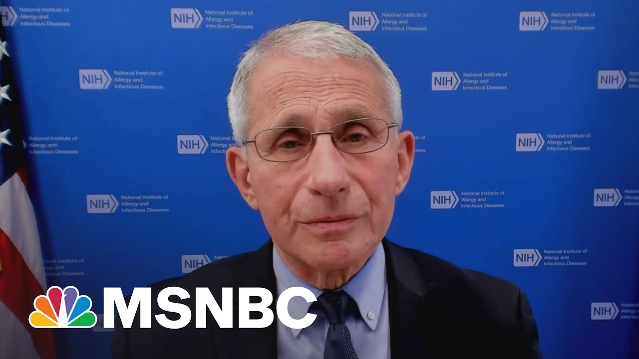 Dr. Fauci Calls New CDC Mask Guidelines A 'Step Toward Normality' 1