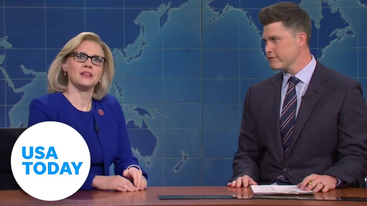 'SNL' McKinnon's Liz Cheney on vote: I fell down to hell like Lil Nas X | USA TODAY 1