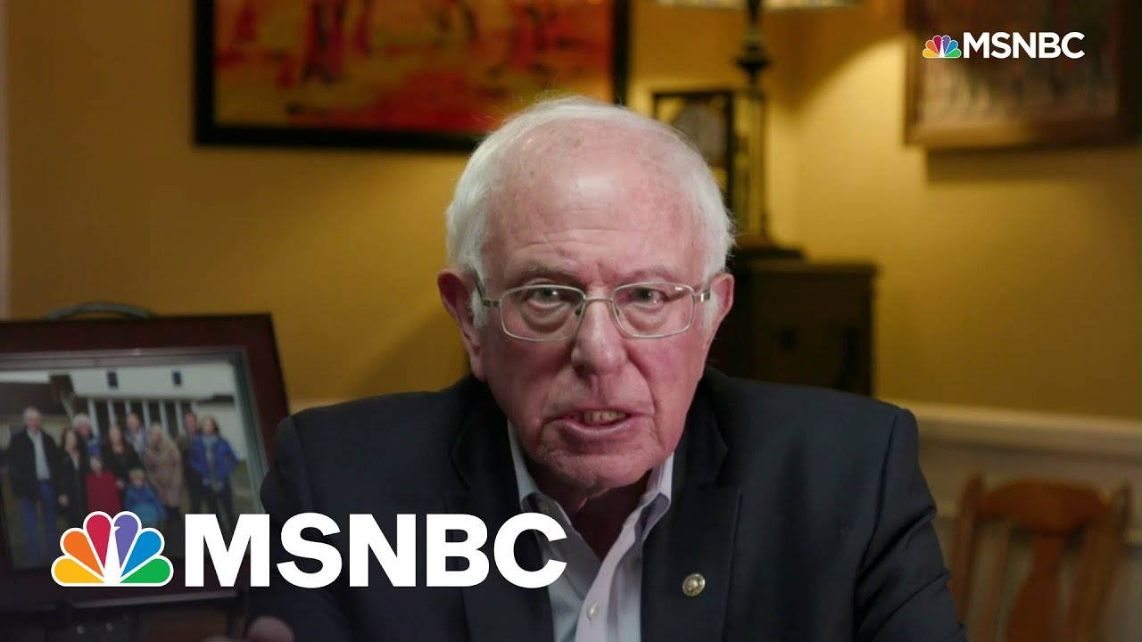 'Be Bold, Go Big': Sen. Bernie Sanders On How Democrats Can Hold Onto Power | All In | MSNBC 9
