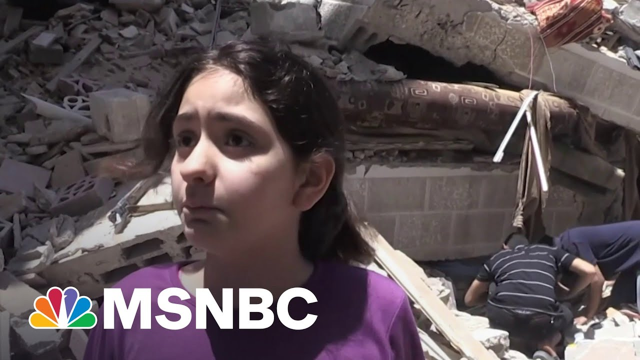 10-Year-Old Gaza Girl Pleads For Help As Airstrikes Continue 1