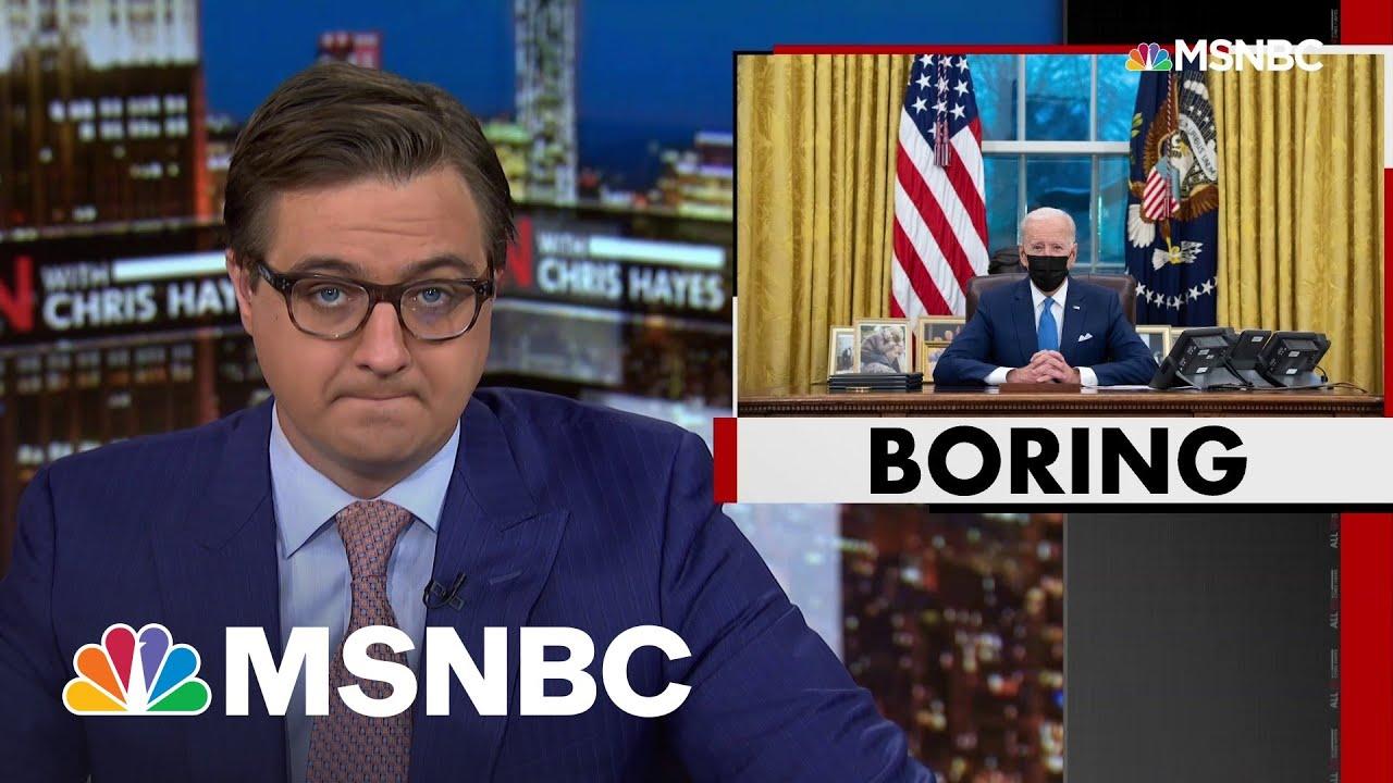 Chris Hayes: How Biden Is Succeeding Where Trump Failed | All In | MSNBC 7