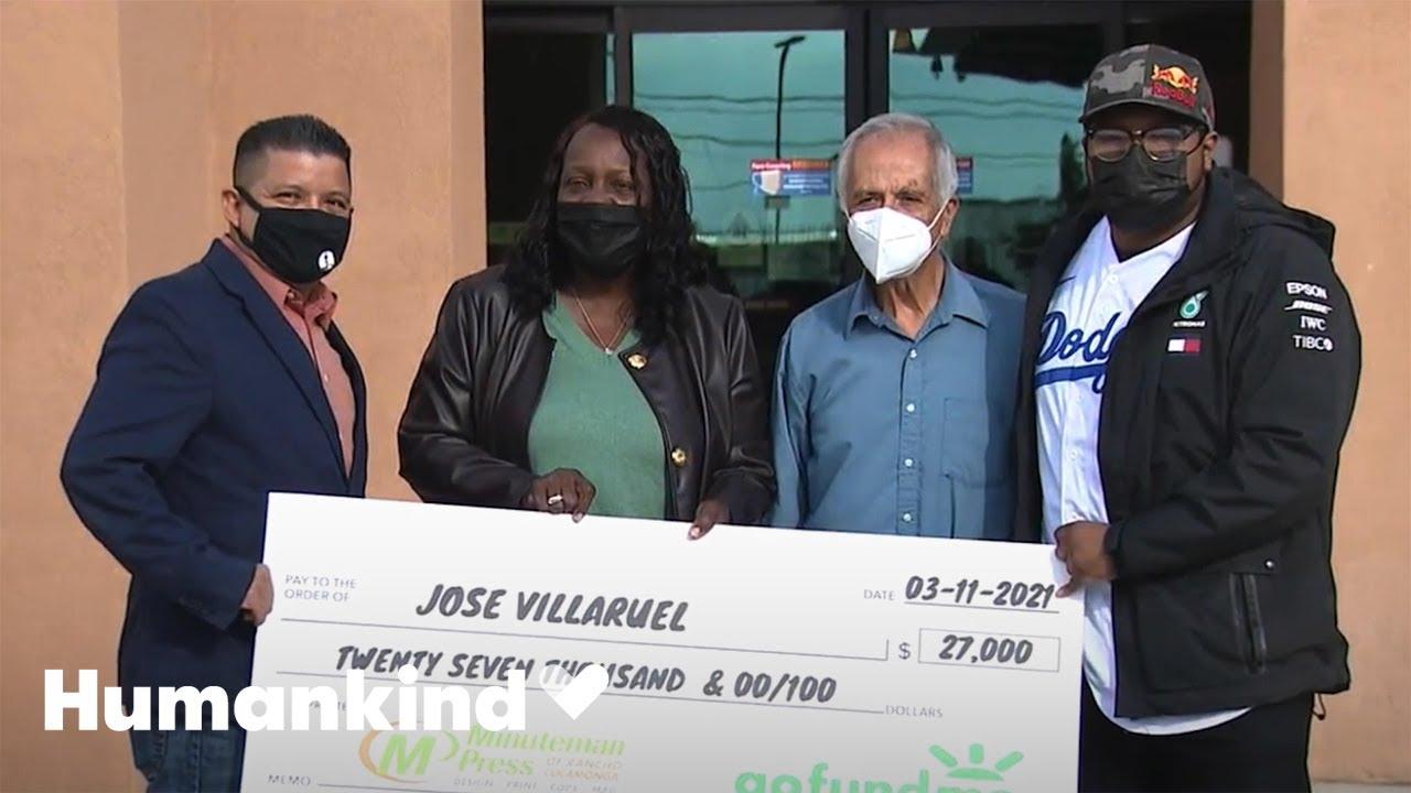 Student raises money for teacher living in his car | Humankind 8